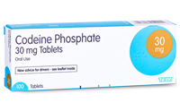 Codeine Phosphate 30mg Tablets